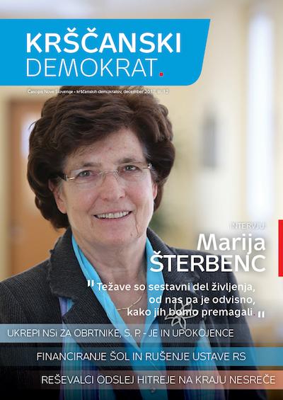 Krščanski demokrat št. 12